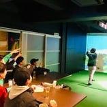 手ぶらでOK!3つのゴルフトレーニングブース