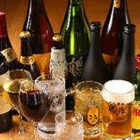 生ビールもハイボールもワインも!焼肉と相性バッチリなドリンクを飲み放題で楽しめます