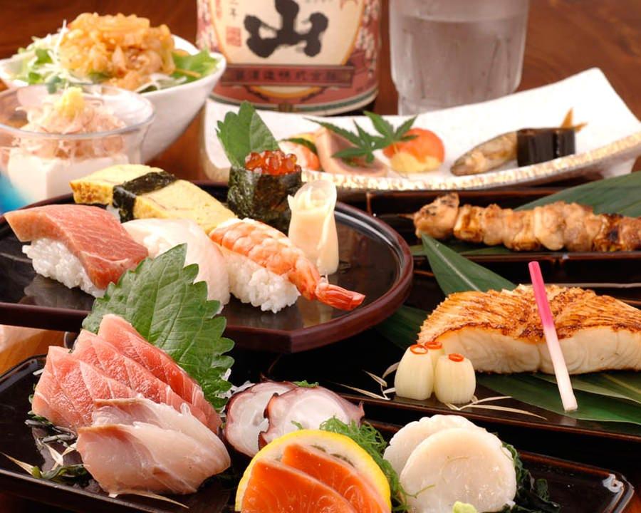 職人の技が光る旬の料理を 贅沢に味わう豪華コースの数々!