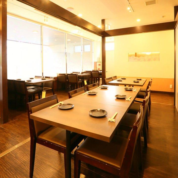 テーブル席・半個室・2名様~5名様