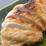 鶏の塩焼き 柚子胡椒添え
