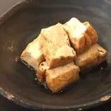 厚揚げの生姜煮