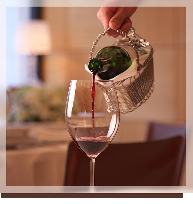 料理・時を引き立てるワイン