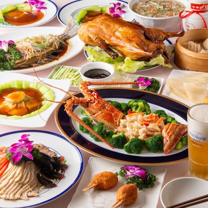 辛い中に旨味が際立つ「麻婆豆腐」などが堪能できるコース料理
