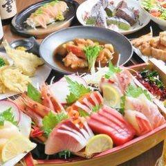海鮮と産地鶏の炭火焼き うお鶏 浜松駅前店 コースの画像