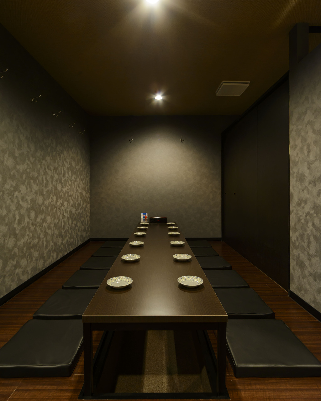 多彩な完全個室完備
