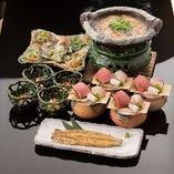 本格和食料理人が作る絶品出汁を合わせた深い味わいの「う鍋」