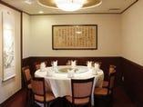 接待・お食事会・お祝い・結納・顔合わせ向きの【5名~10名用円卓個室】