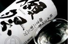 日本酒、焼酎、ワインなど種類も豊富