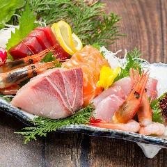 鮮魚のお造り5点盛り