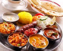 インド地方の家庭料理でご宴会