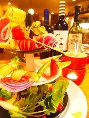 バーニャカウダ風 ディプスタイルサラダ