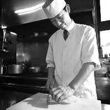 【店主】松永聖道 有名ホテルの板長として何店も経験した実力派