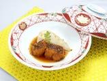 海老芋と棒だらの煮物