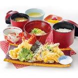 大海老と野菜の天ぷら御膳