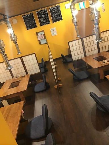 生ラムジンギスカン 林檎家 古川店 店内の画像