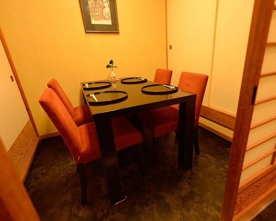 プライベートな空間を確保する個室