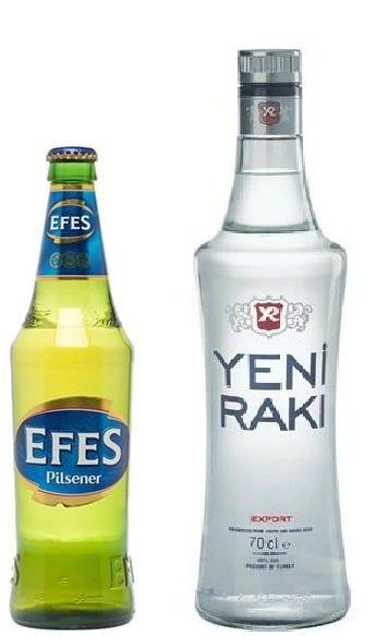 当店看板メニューやトルコのビール、ワインも楽しめます♪