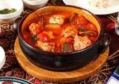 月替わりの南トルコの家庭料理 (一例)