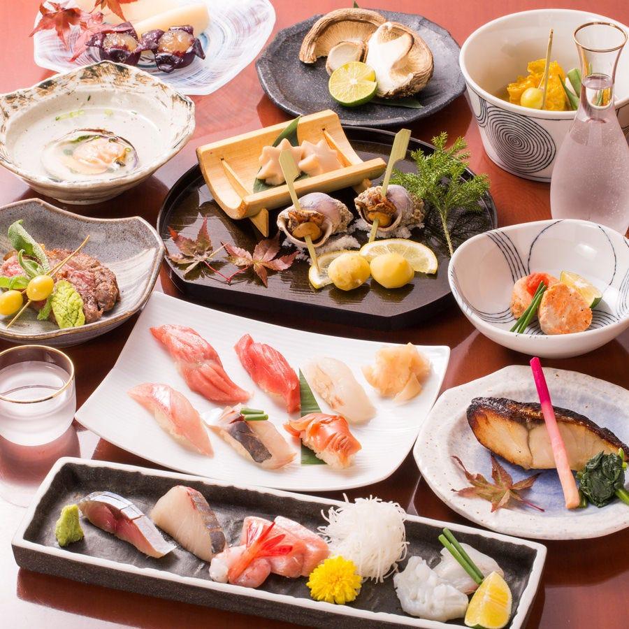 季節香るコース料理7000円~