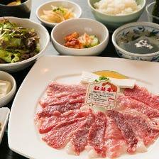 松阪牛焼肉と本格韓国料理をランチで