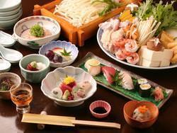 よくばり鍋コース お一人様¥4500(税別)