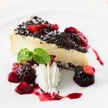 ニューヨーク チーズケーキ ~MIXベリーソース~