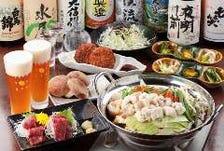 郷土料理、信州地酒を堪能
