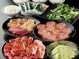 当日に注文できるコース料理を3種類ご用意!!