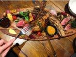シェフオススメお肉3種盛り
