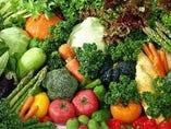 地元の食材も豊富にご用意いたしております!