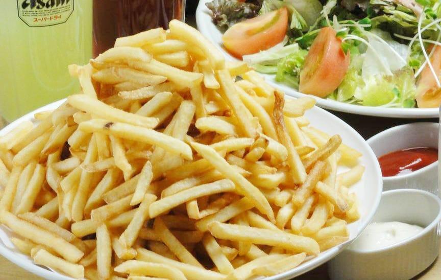 10種のフレーバーポテト食べ放題コース