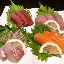 旬の鮮魚を使用