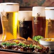 鮮度抜群ビールと好相性のおつまみ達