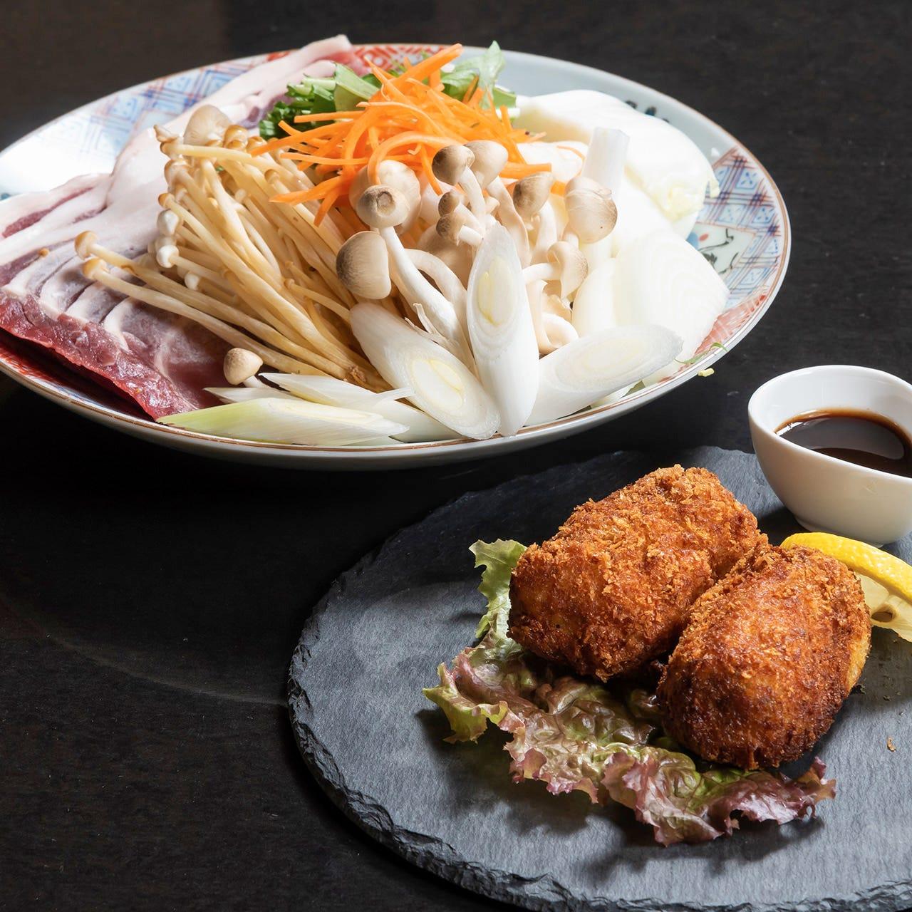 寿司屋で味わう『ジビエ料理』