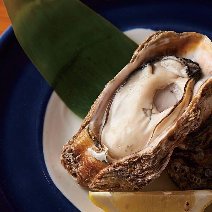 産地直送の牡蠣