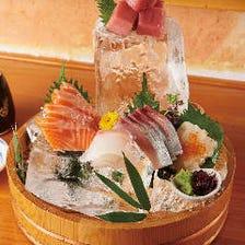 宴会コースは飲み放題付3,500円~!