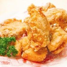 ビアホールの若鶏から揚げ(骨付き)レギュラー4個 当店料理人気ナンバー1