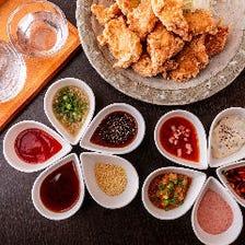 銘柄鶏の良さが引き立つ料理を味わう