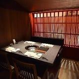 【完全個室】 シックで落ち着いた雰囲気の個室は全5部屋