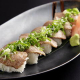 極上の霜降り和牛を使用した握り寿司。1番の人気メニューです!