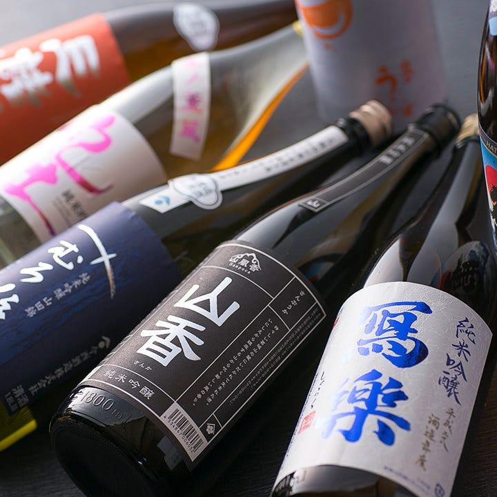 二つの老舗酒造より取り寄せる日本酒