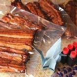 真空保存:鰻の蒲焼き