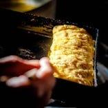 福島県相馬市大野村農園のミルキーエッグで出汁巻き卵