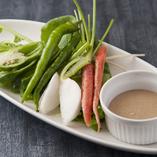 京の恵みと旬野菜のバーニャカウダ