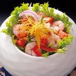 プリプリ海老サラダ