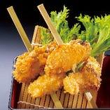 広島産 牡蠣の串揚(2本)