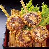 椎茸の串揚(2本)