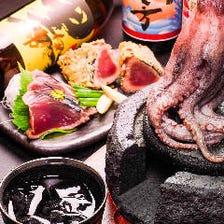 【九州の鮮魚堪能コース】生ビールもOK!2時間飲み放題付3500円