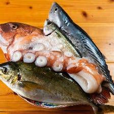 新鮮さにこだわったお魚!!